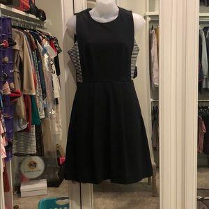 Madewell black cotton dress